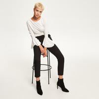 Reserved Eleganckie spodnie QW715-99X