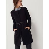 Mohito Elegancki płaszcz z paskiem QB976-99X