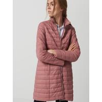 Mohito Długi pikowany płaszcz RC546-34X
