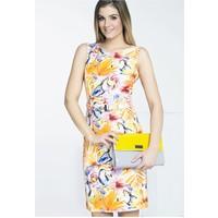 Monnari Kolorowa sukienka na lato SUKPOL0-16L-DRE1770-K003D601-R36