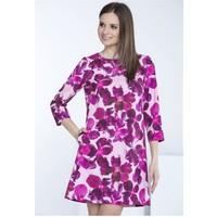 Monnari Kolorowa sukienka w kwiaty SUKPOL0-16W-DRE1140-KM00D601-R36