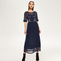 Reserved Wzorzysta sukienka RA948-59X