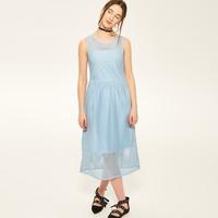 Reserved Sukienka z ażurową siatką RC700-05X