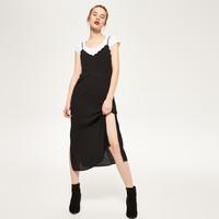 Reserved Bieliźniana sukienka z koronką QF904-99X