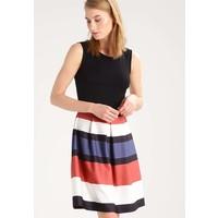 Anna Field Sukienka z dżerseju black/brown AN621CA6D