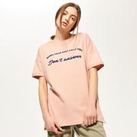 Reserved Dresowa koszulka z aplikacją QT882-03X
