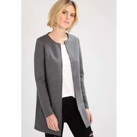 Vila VINAJA NEW LONG JACKET Krótki płaszcz medium grey melange V1021G06S