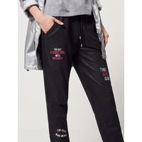 Mohito Dresowe spodnie z brokatowym efektem RA123-99X