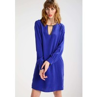 Sisley Sukienka letnia electric blue 7SI21C06B