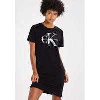 Calvin Klein Jeans DAKOTA TRUE ICON Sukienka z dżerseju black C1821C01R