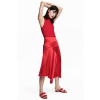H&M Spódniczka 0553374002 Czerwony