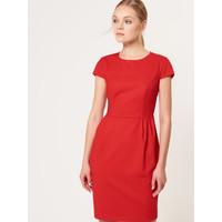 Mohito Czerwona ołówkowa sukienka SR894-33X