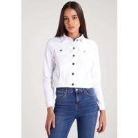Even&Odd Kurtka jeansowa white denim EV421GA13
