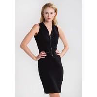 Sisley Sukienka etui black 7SI21C06R