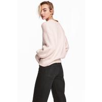 H&M Sweter 0530178002 Pudroworóżowy