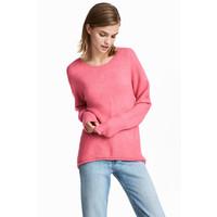 H&M Sweter 0496111009 Różowy