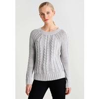 GAP Sweter marled grey heather GP021I04U