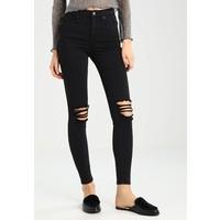 Topshop JAMIE Jeans Skinny Fit black TP721N057