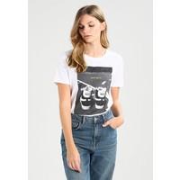Nike Sportswear TEE T-shirt z nadrukiem white NI121D0AA