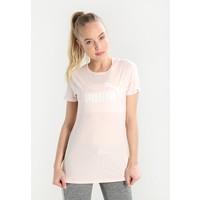 Puma ESS LOGO TEE T-shirt z nadrukiem pearl PU141D03T