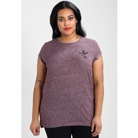 Twintip Plus T-shirt z nadrukiem burgundy TWB21D001