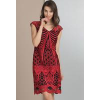 Monnari Oryginalna, koronkowa sukienka SUKPOL0-18L-DRE1470-K005D000-R36