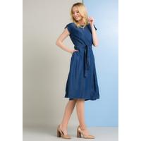 Monnari Jeansowa sukienka z paskiem SUKIMP0-18L-DRE1390-K012D400-R36