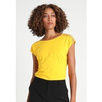 Anna Field T-shirt z nadrukiem spectra yellow AN621D0F7
