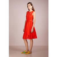 J.CREW ALL OVER EYELET DRESS Sukienka letnia cerise JC421C01V