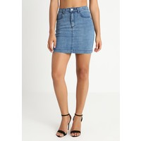 Missguided SUPERSTRETCH SKIRT Spódnica jeansowa stone wash M0Q21B06G