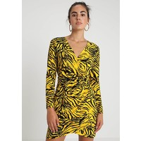 Topshop TIGER PRINT WRAP Sukienka letnia multi TP721C0ZK