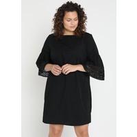 Lauren Ralph Lauren Woman LUXE LANTERN Sukienka letnia black L0S21C01J
