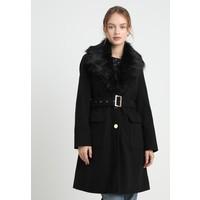Dorothy Perkins Petite COLLAR BELTED Płaszcz wełniany /Płaszcz klasyczny black DP721U00F