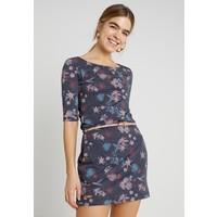 Ragwear TANYA FLOWERS Sukienka z dżerseju navy R5921C02Y