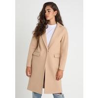 Topshop BACK MIDI COAT Płaszcz wełniany /Płaszcz klasyczny camel TP721U03G
