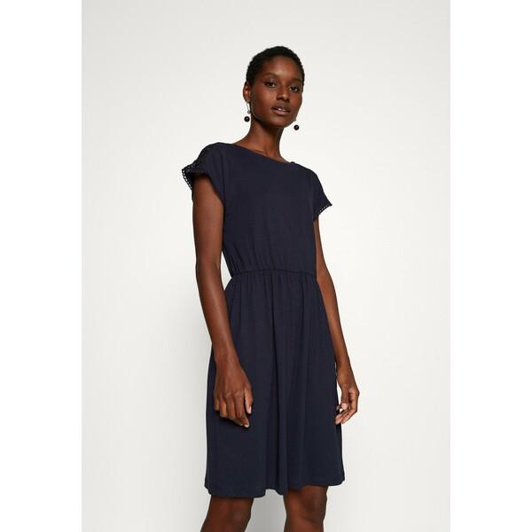 Anna Field Sukienka z dżerseju maritime blue AN621C1IG