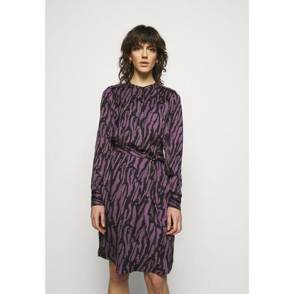 Bruuns Bazaar TREE DRESS Sukienka koszulowa purple BR321C046
