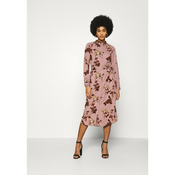 Vero Moda VMCRANE DRESS Sukienka koszulowa woodrose VE121C2MS