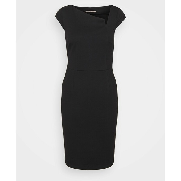 Anna Field CASUAL SMAR MINI BODYCON DRESS WITH CUT OUT Sukienka etui black AN621C1MO
