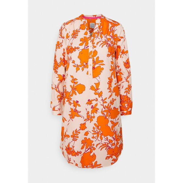 Emily van den Bergh Sukienka letnia orange/rose EV821C01C