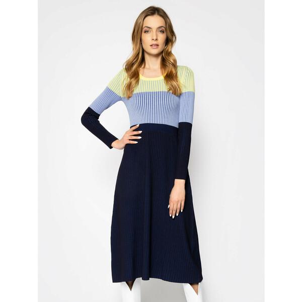 Sportmax Code Sukienka dzianinowa Agnese 73210202 Kolorowy Slim Fit