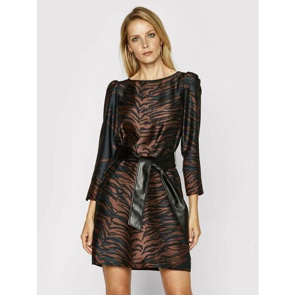 Pennyblack Sukienka codzienna Doya 12242620 Brązowy Regular Fit