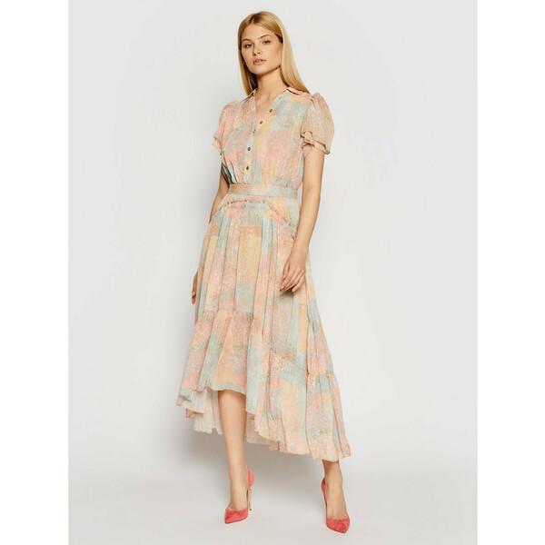 Marciano Guess Sukienka codzienna 1GG738 9528Z Pomarańczowy Regular Fit