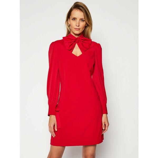 Marciano Guess Sukienka koktajlowa Blanche 0BG726 9373Z Czerwony A-Line Fit