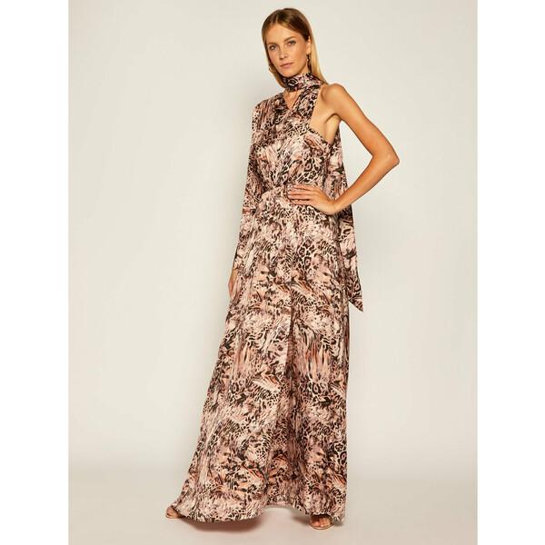Marciano Guess Sukienka wieczorowa Leo 0BG764 9412Z Beżowy Regular Fit