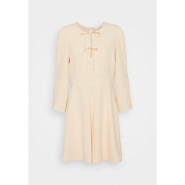 See by Chloé Sukienka letnia beige SE321C05B