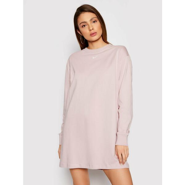 Nike Sukienka codzienna Nsw Essential CU6509 Różowy Loose Fit