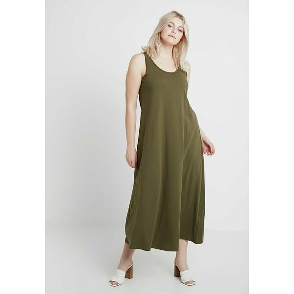 Zizzi VMINA DRESS Sukienka z dżerseju ivy green Z1721C042