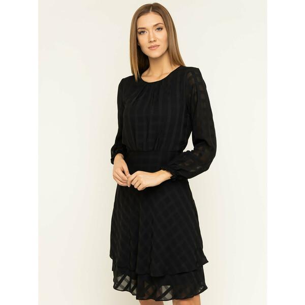 DKNY Sukienka koktajlowa DD9FY742 Czarny Regular Fit