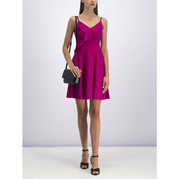 DKNY Sukienka koktajlowa DD9E1496 Różowy Regular Fit